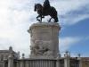 Лиссабон. Площадь коммерции. Памятник Жозе I