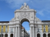 Лиссабон. Площадь коммерции.Триумфальная арка