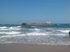 Островок с церковью напротив пляжа