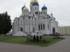 Никольский собор (на первом плане) и Спасо-Преображенский собор