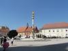 Загреб. Фонтан Богородица с ангелами