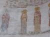 Юрьев монастырь.Георгиевский собор. Фрагмент интерьера. Фреска XII в