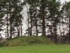 Славянская деревня. Курган