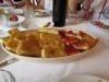 Фокачча (Обед в массерии La Calcara)