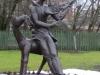 Витебск. Памятник Марку Шагалу (в молодости)
