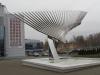 Ярославль. Арена 2000. Памятник Хоккейное братство